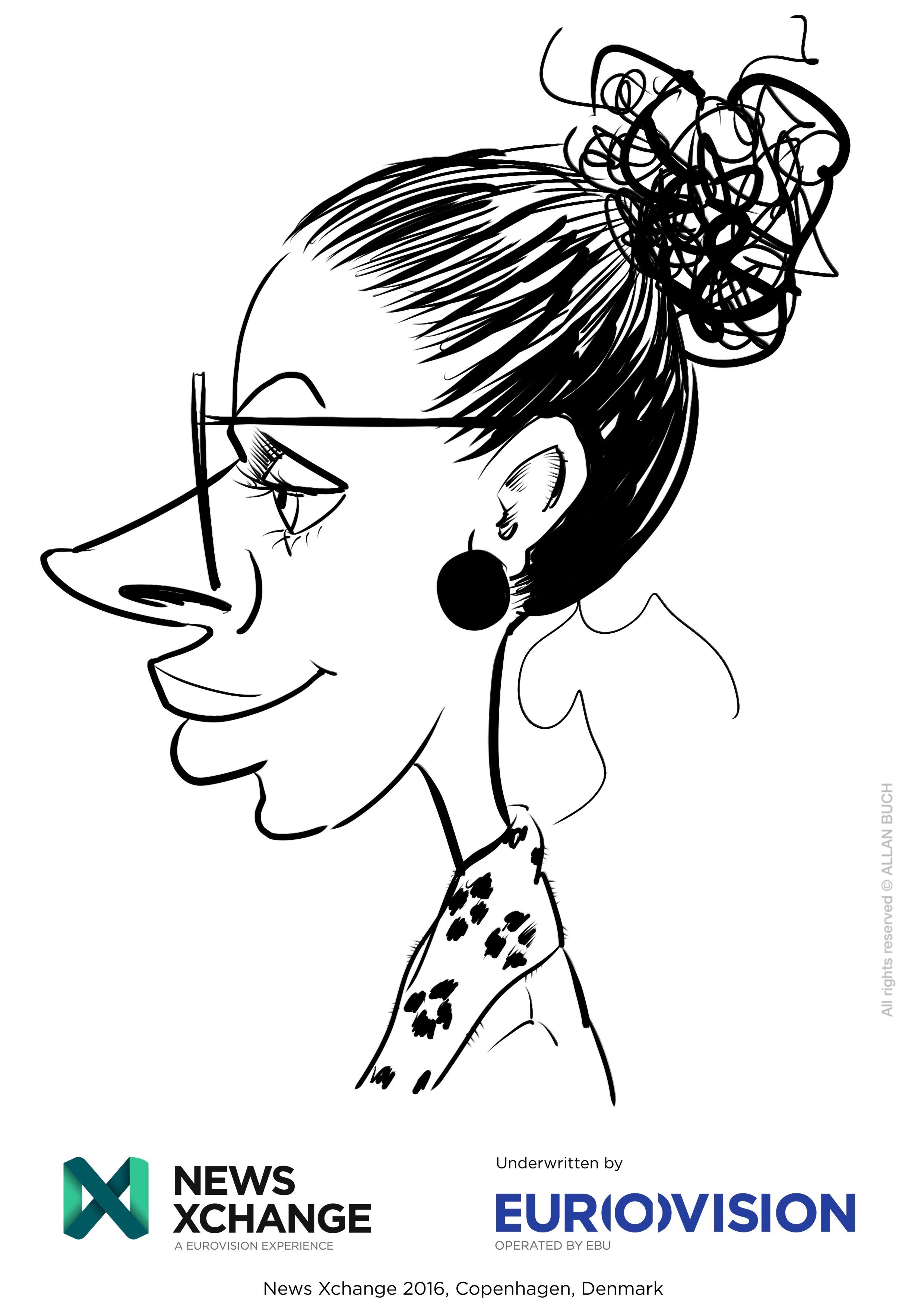 ipad Live karikatur med Allan Buch_01