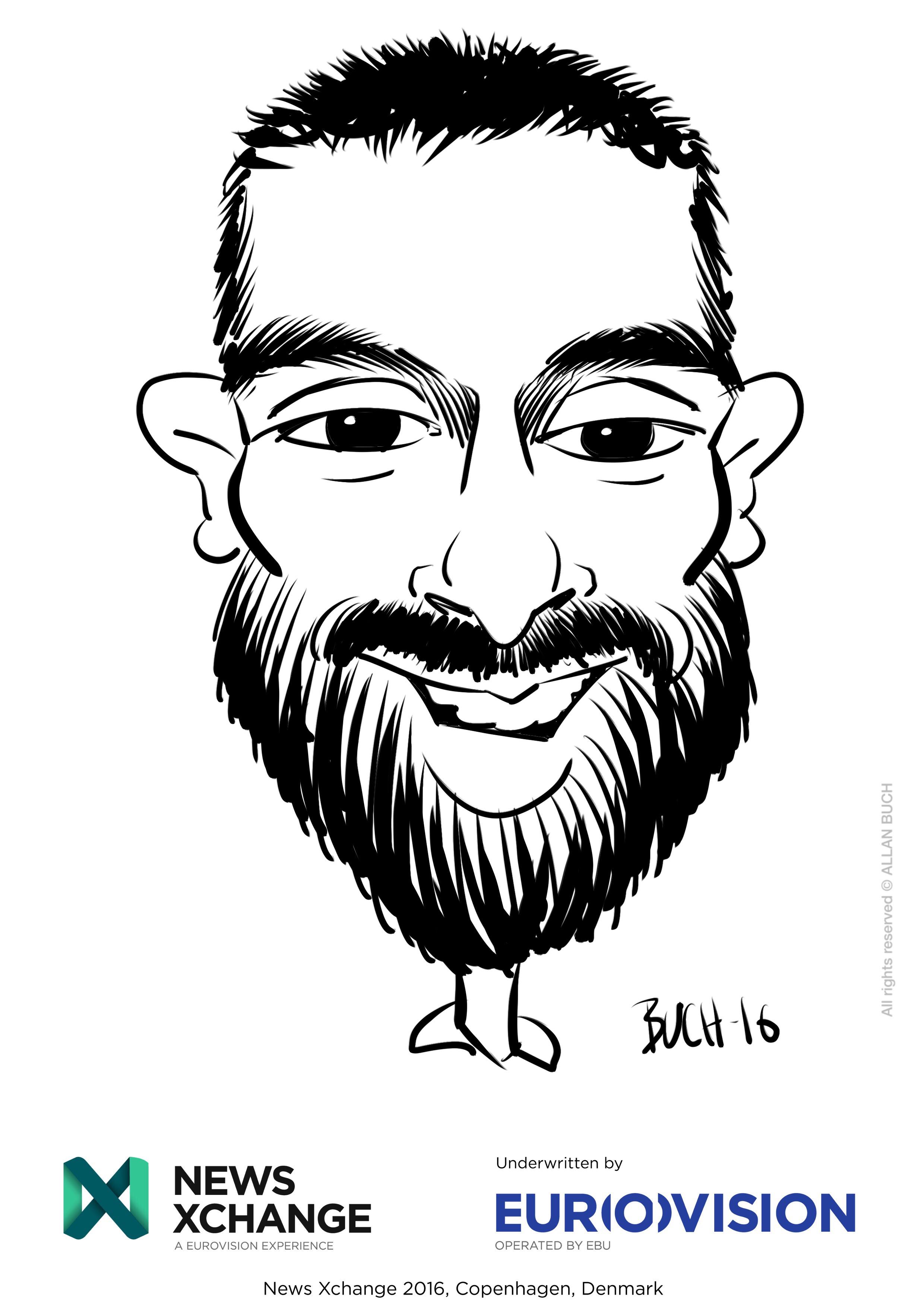 ipad Live karikatur med Allan Buch_02