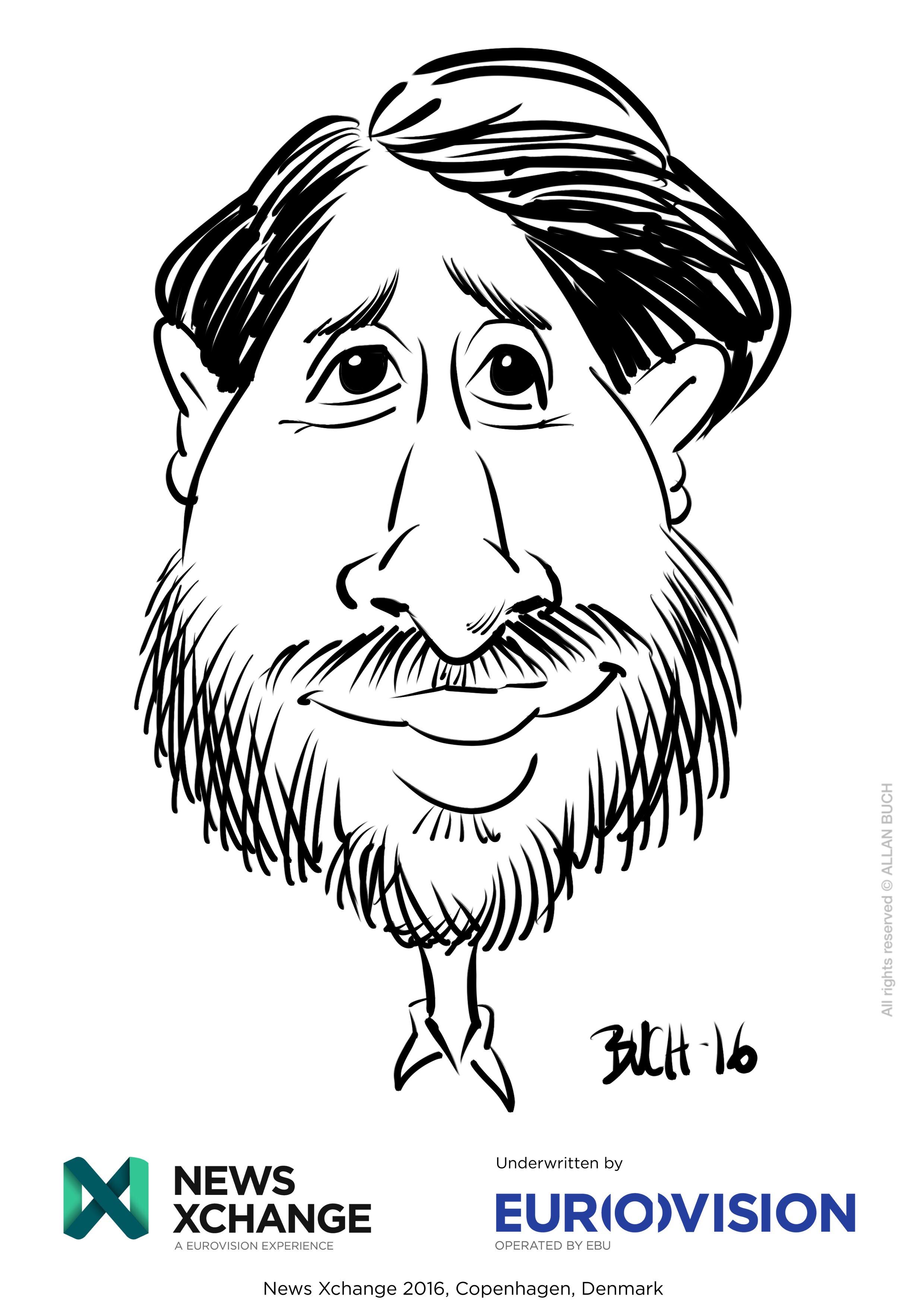 ipad Live karikatur med Allan Buch_04