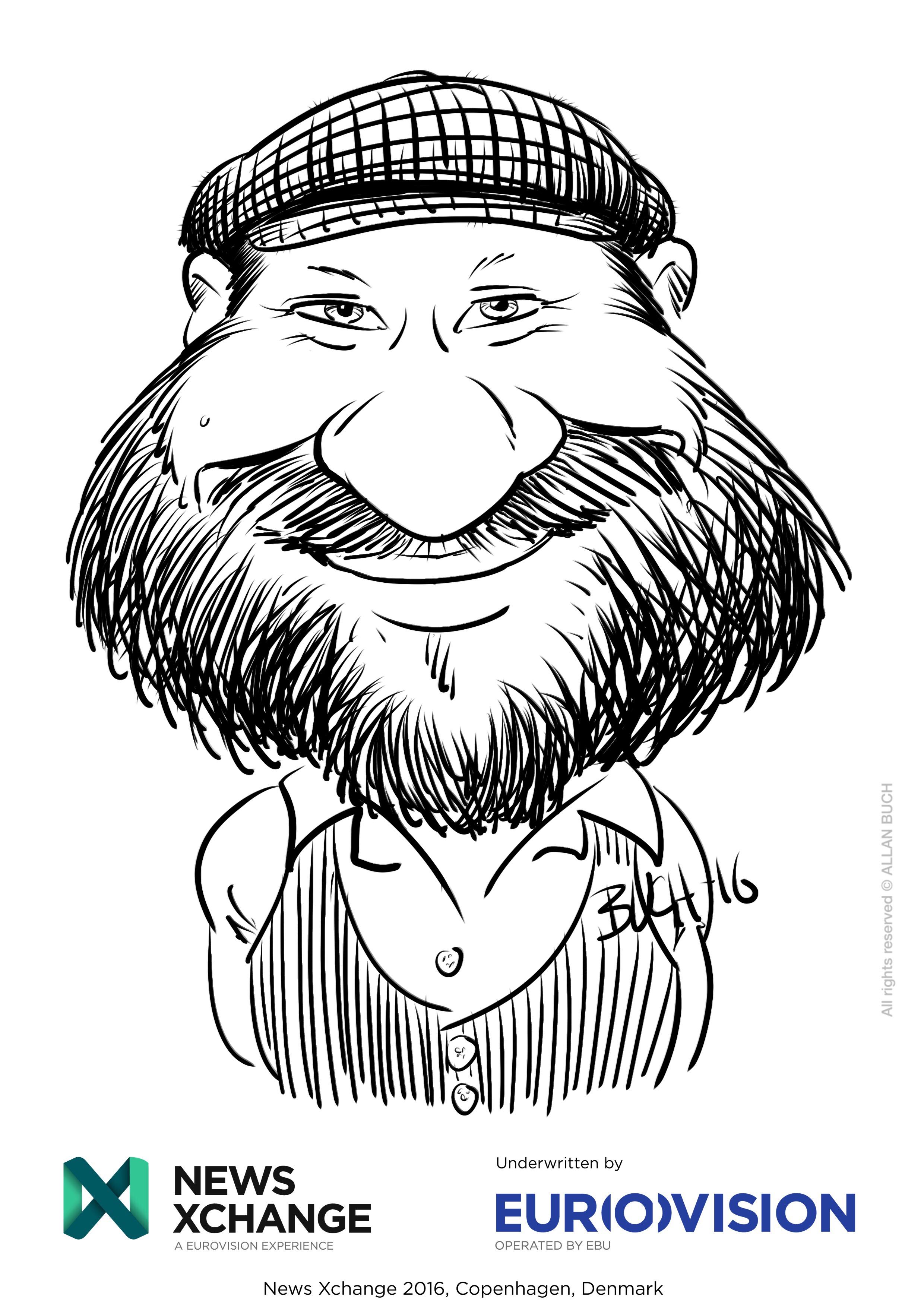ipad Live karikatur med Allan Buch_05