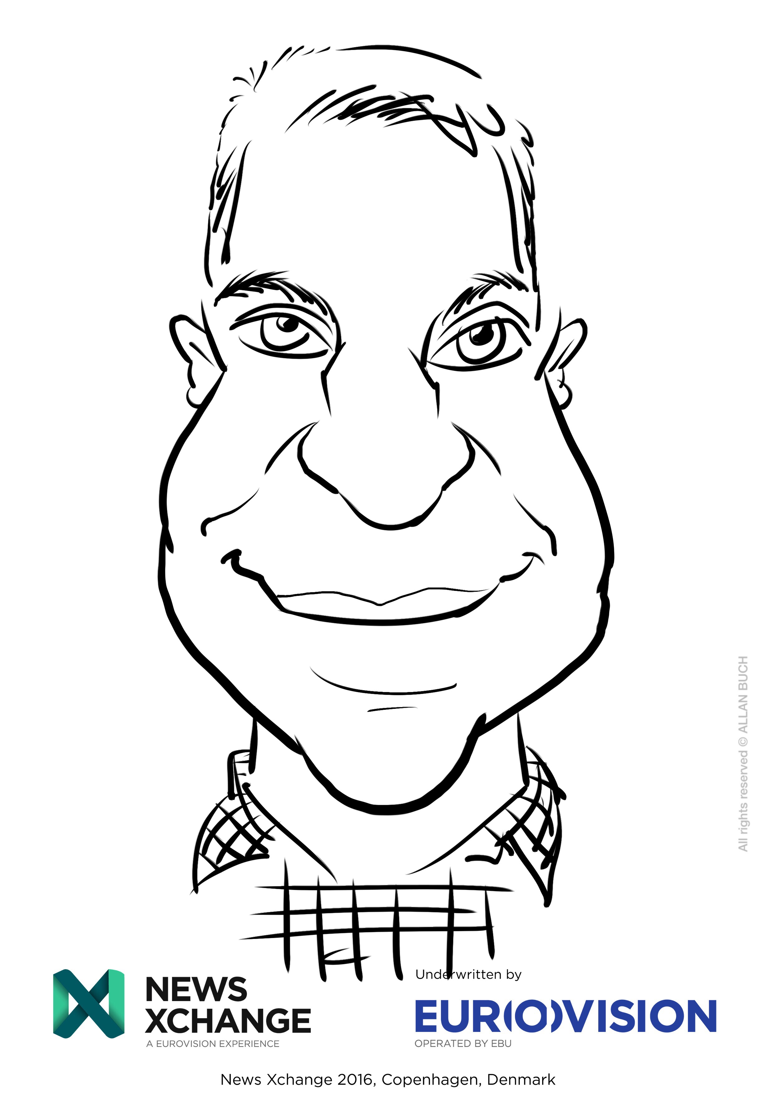 ipad Live karikatur med Allan Buch_07