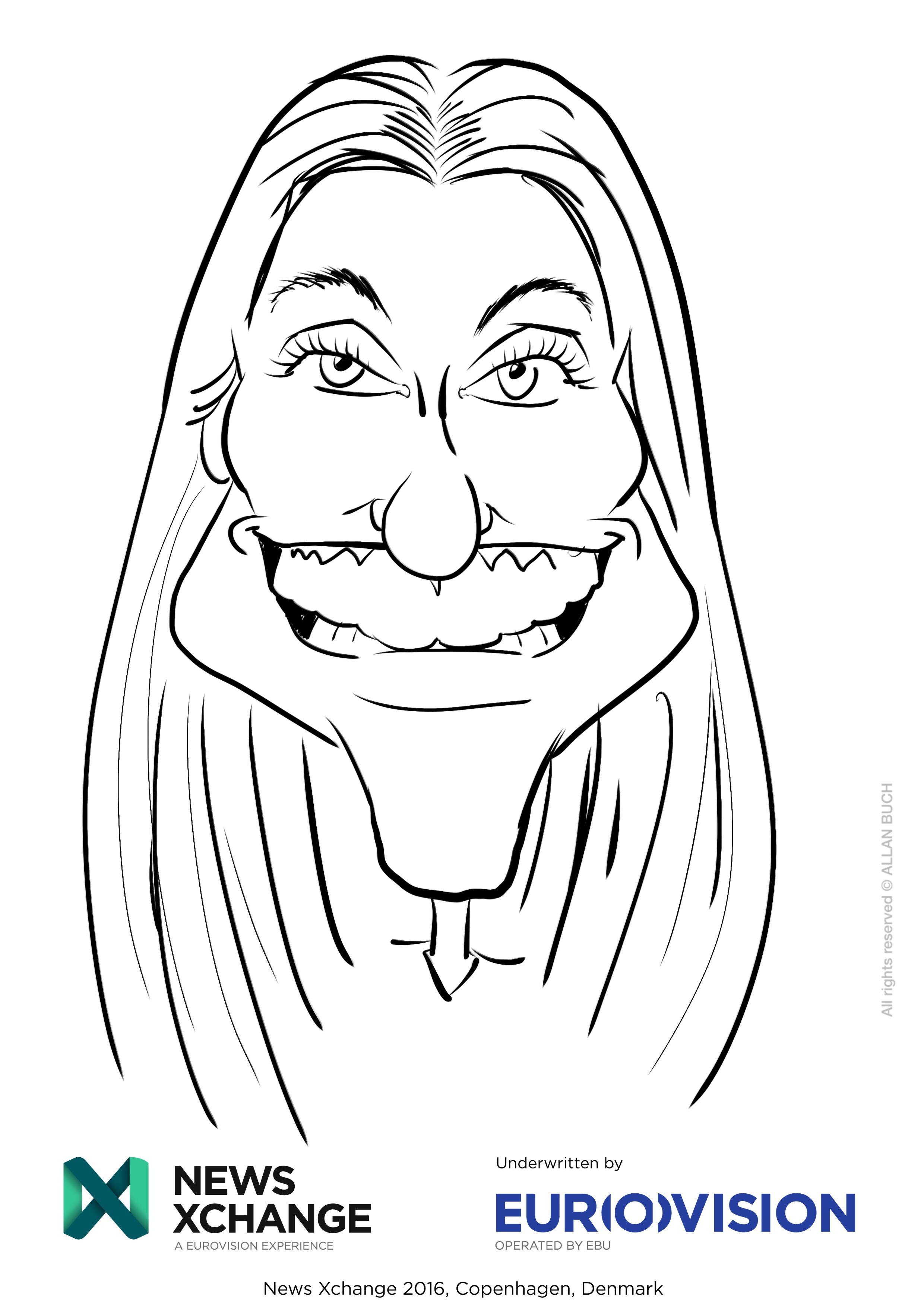 ipad Live karikatur med Allan Buch_13