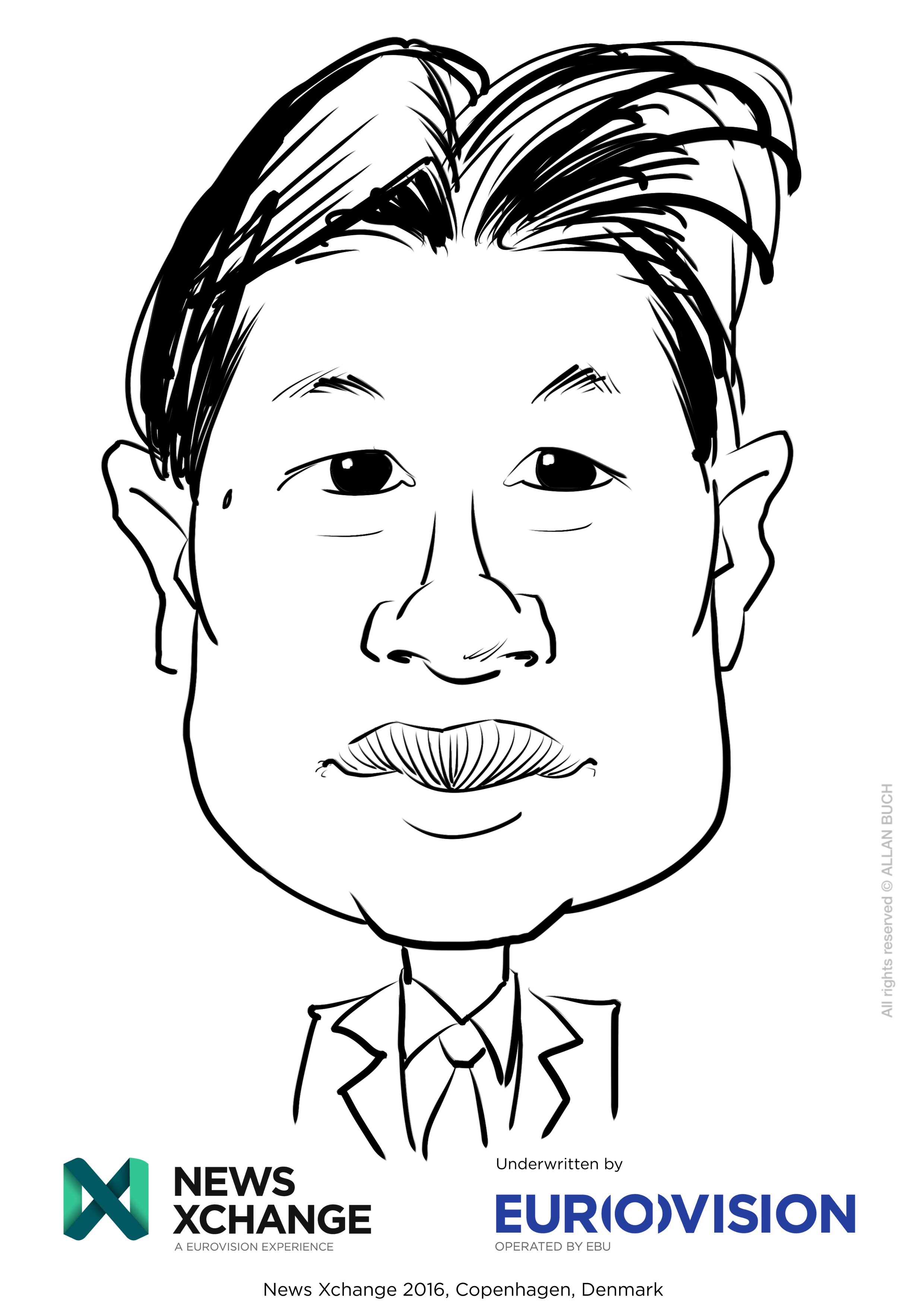 ipad Live karikatur med Allan Buch_15