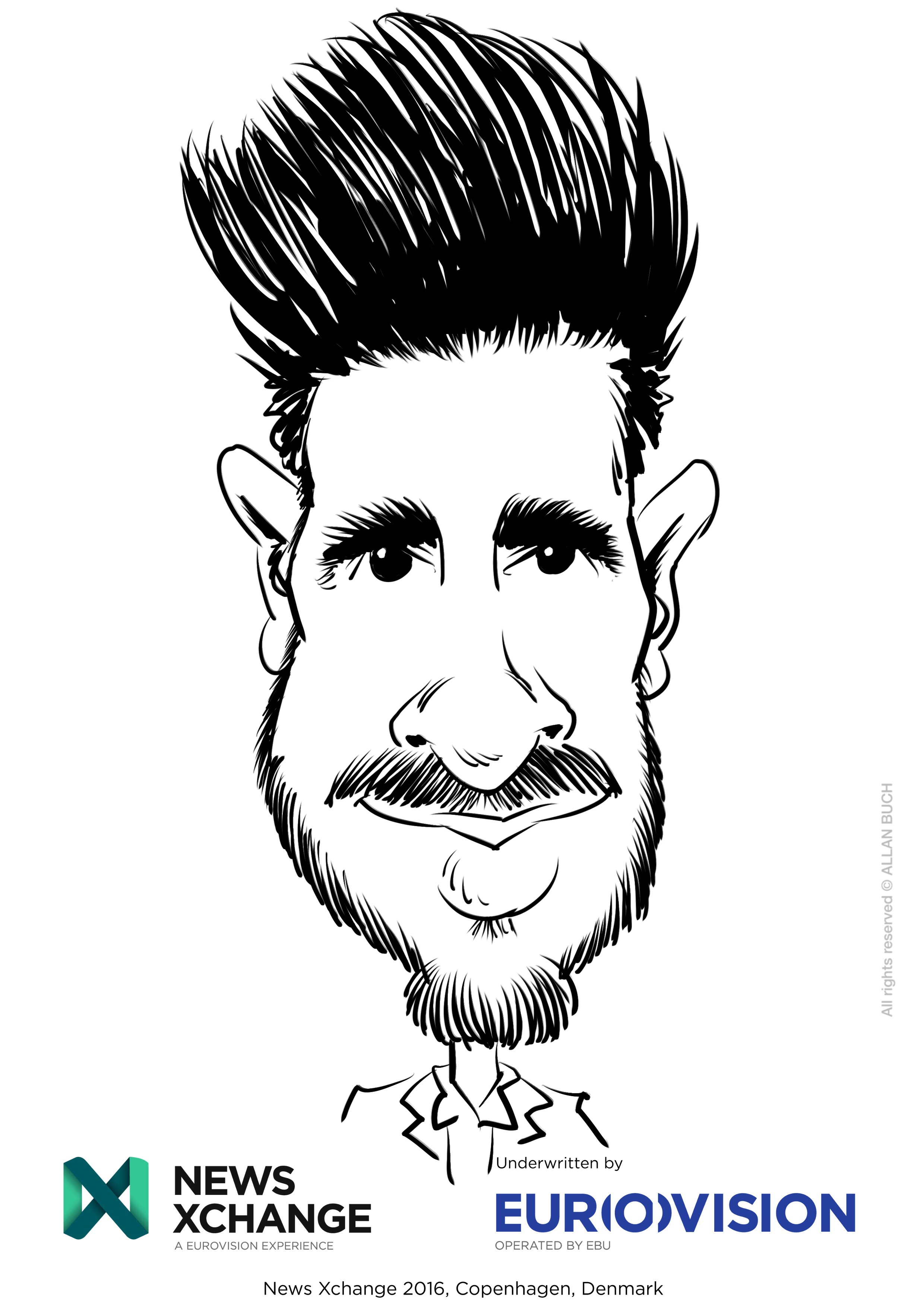 ipad Live karikatur med Allan Buch_18
