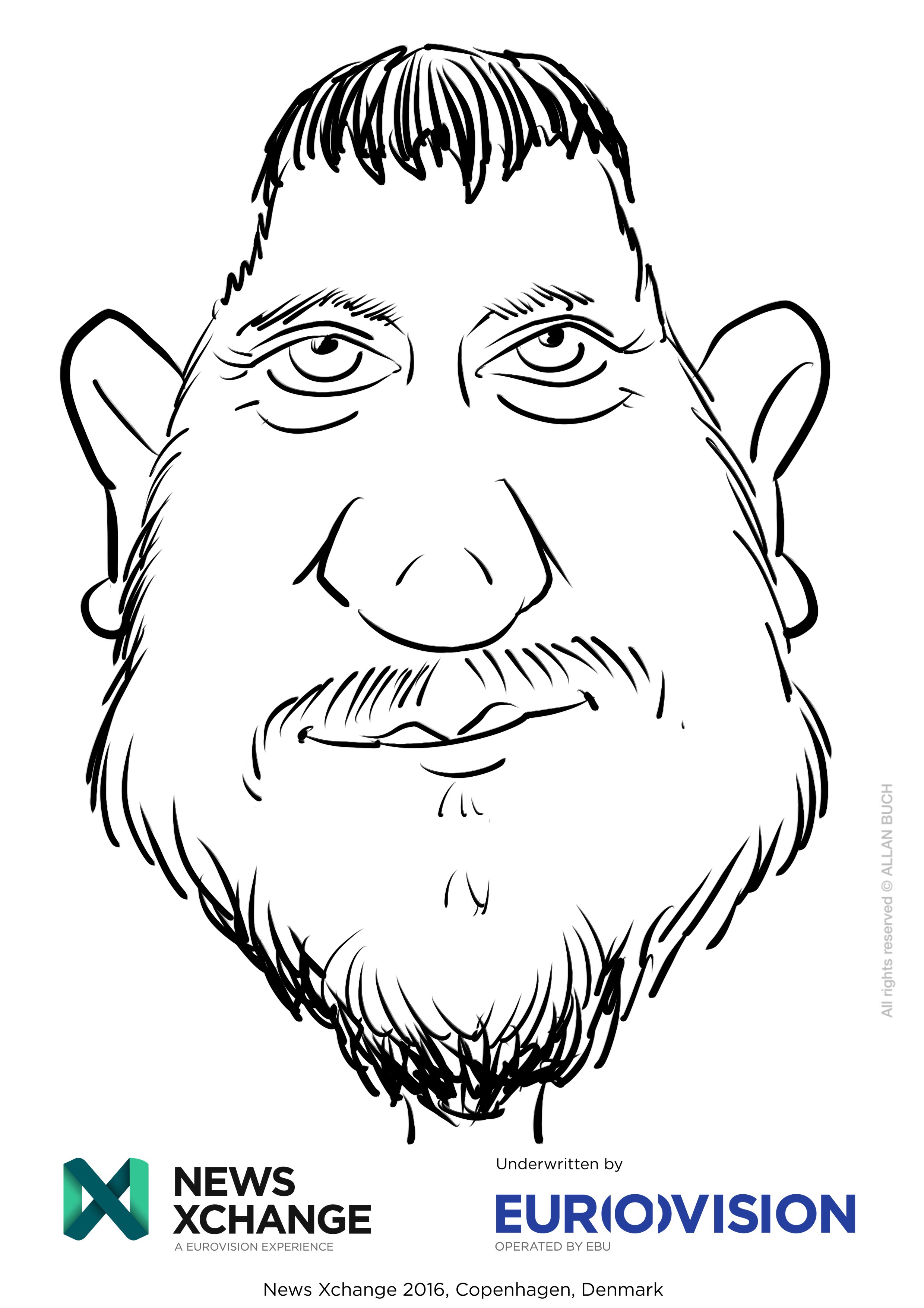 ipad Live karikatur med Allan Buch_20