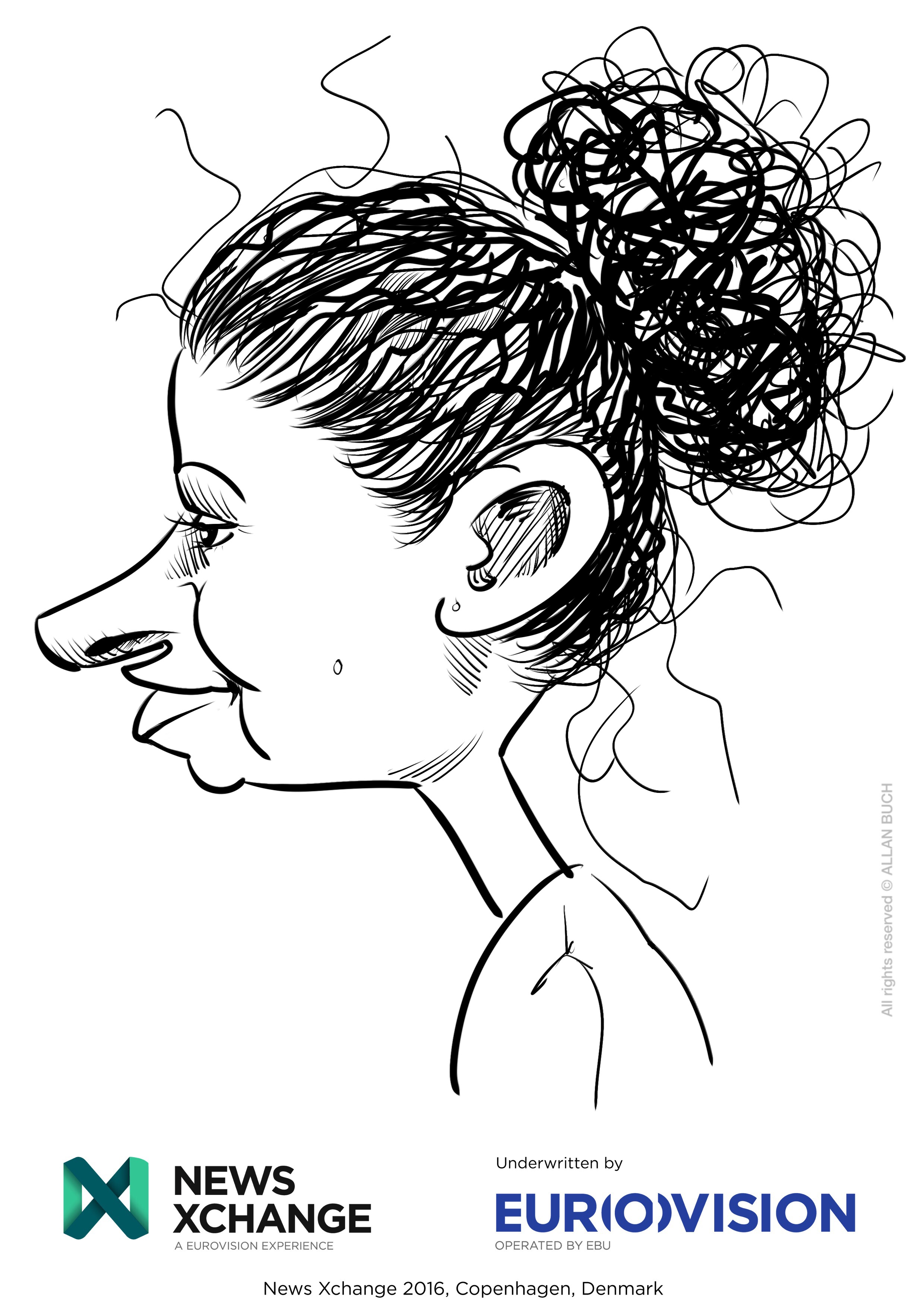 ipad Live karikatur med Allan Buch_23