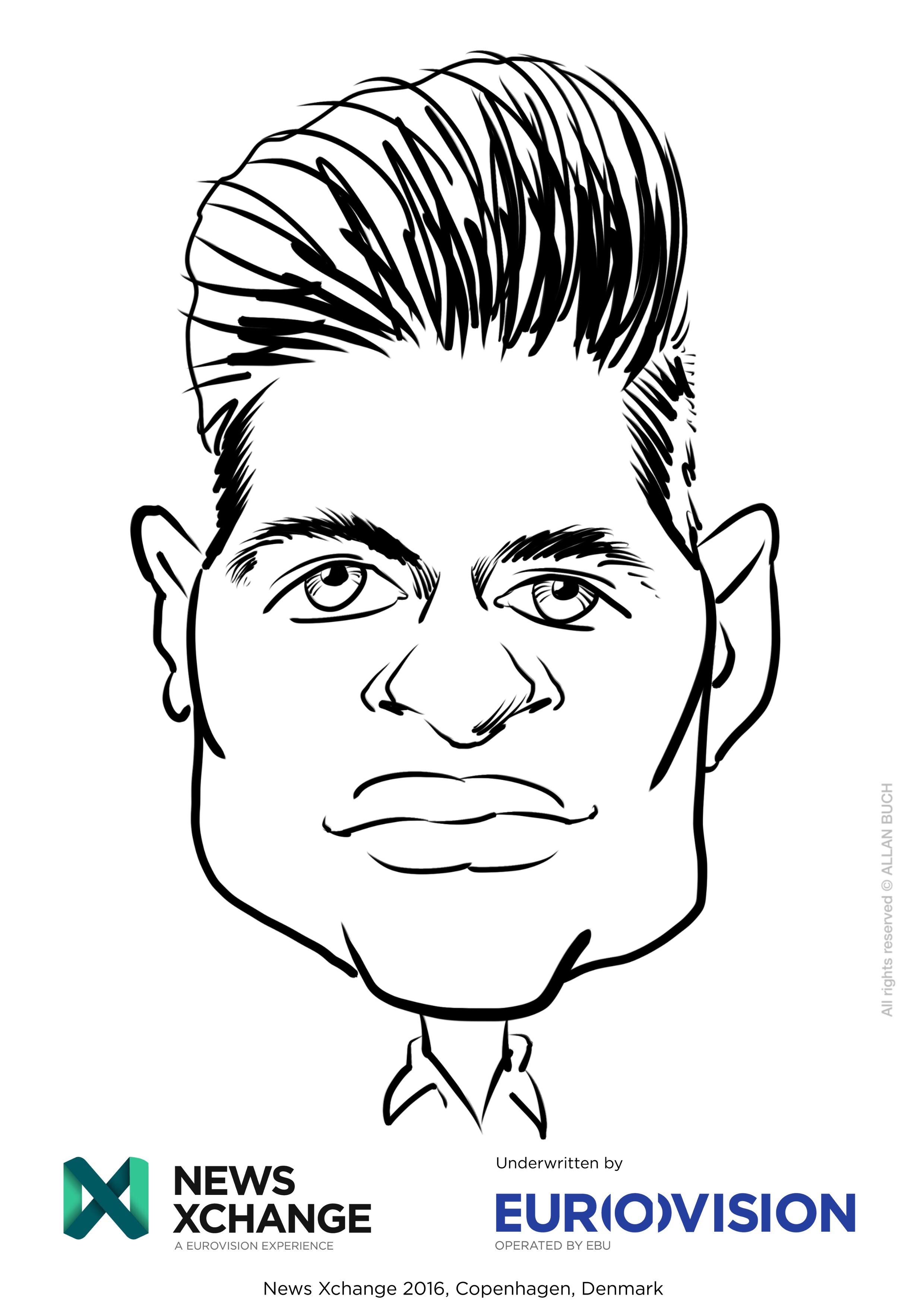 ipad Live karikatur med Allan Buch_26