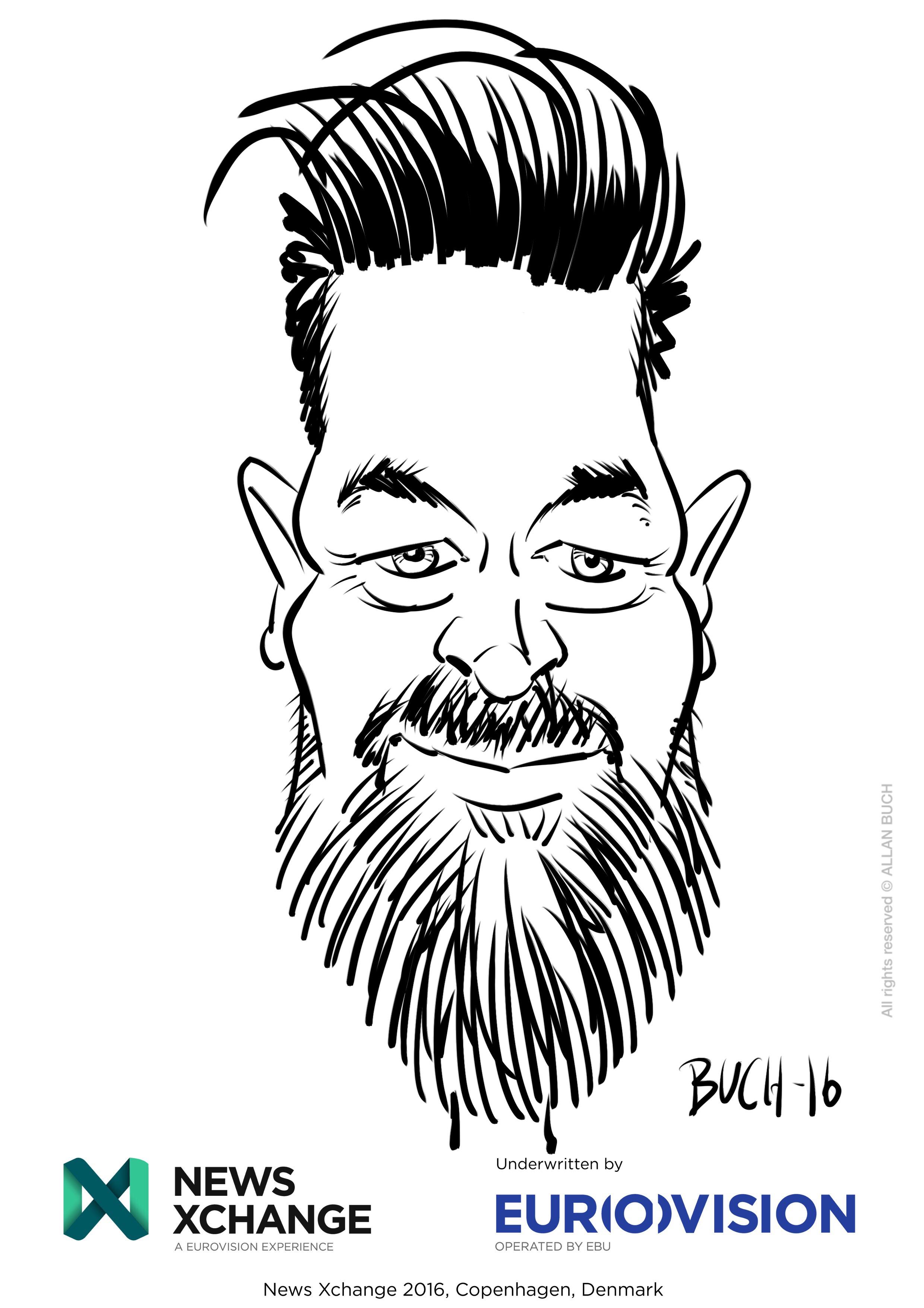 ipad Live karikatur med Allan Buch_31