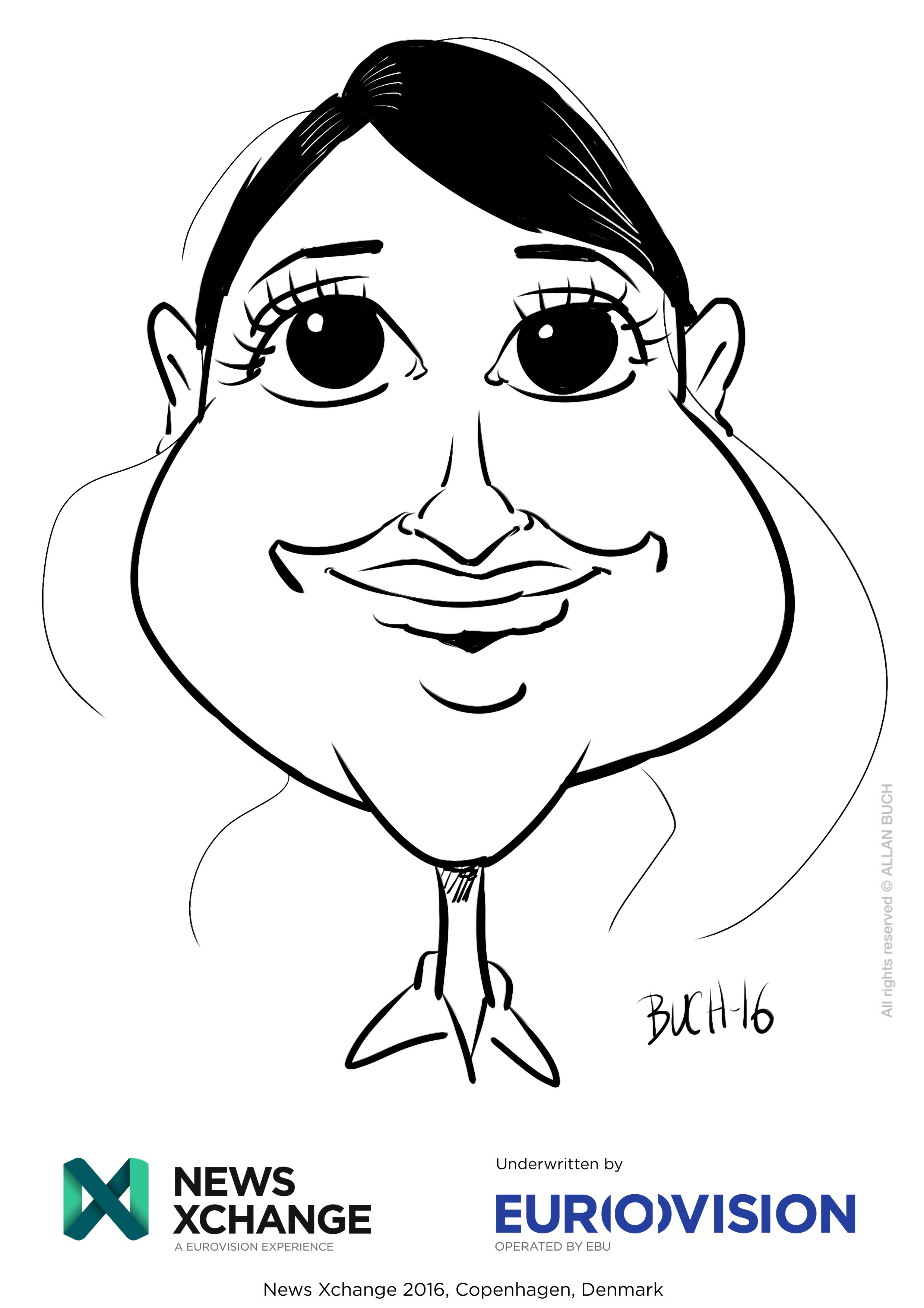 ipad Live karikatur med Allan Buch_39