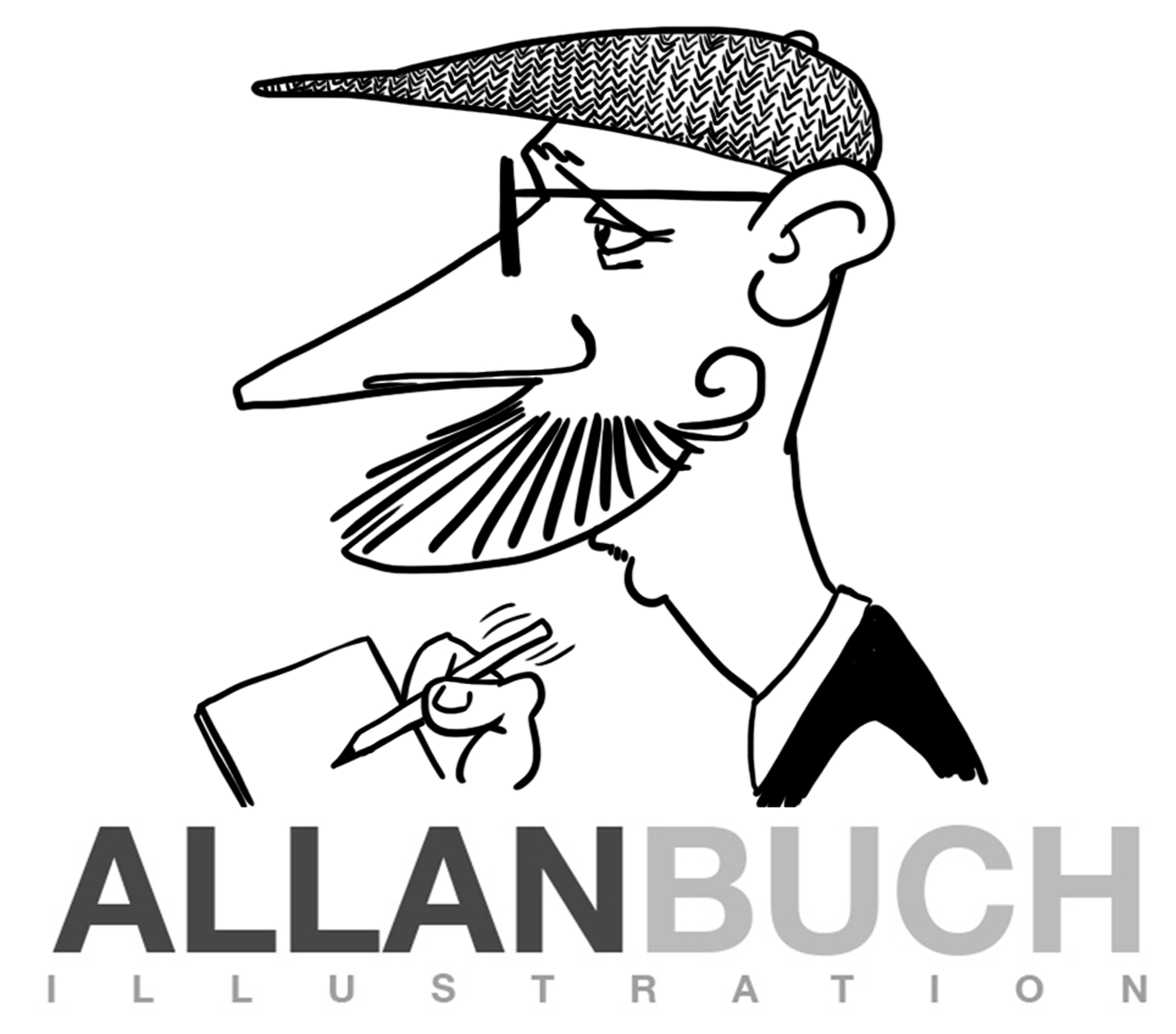 Allan Buch Illustration og karikatur