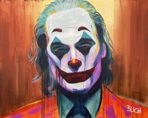 Joker maleri